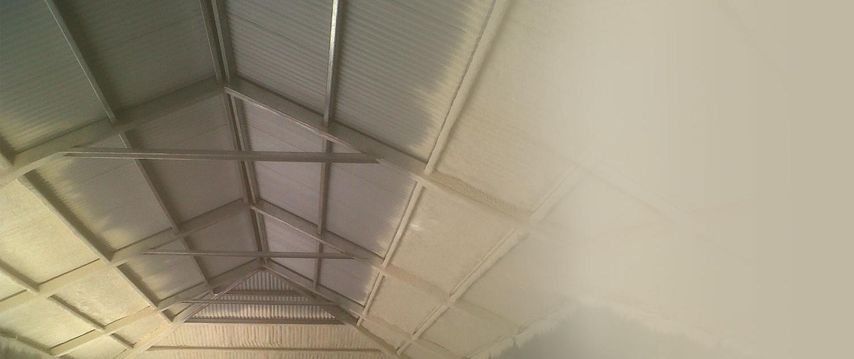 Aplicación de Spray en techos Ecopur96